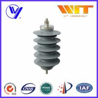 China Lightning Protection Equipment Polymeric Metal Oxide Surge Arrester 10KA , 24KV wholesale