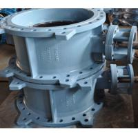 Wholesale EPDM Seated Flanged Type Butterfly Valve PN16 DN700 Bare Shaft from china suppliers