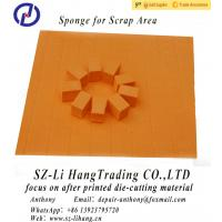 China Orange Ejection Rubber With Adhesive for Die Cutting wholesale