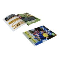 Wholesale Varnish, hot stamping gold or silver 60gsm LWC A4 A5 4P Custom Magazine Printing from china suppliers
