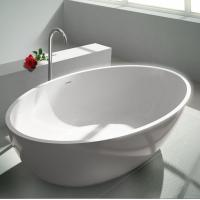 Wholesale White 1630*850*640mm Freestanding Soaking Bathtub from china suppliers