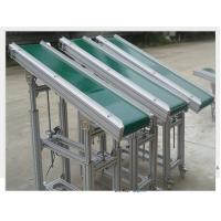 Wholesale Powered V Flat Belt Conveyor Carbon Steel Material 0.4kW - 22kW For Climbing from china suppliers