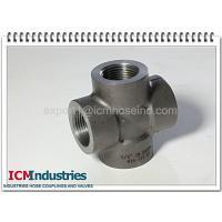 Wholesale 3000 lbs carbon steel pipe fittings cross from china suppliers