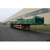 Wholesale Commercial Side dump truck trailers with 3 Axles   from china suppliers