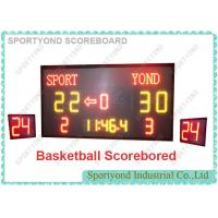 China Electronic scoreboard and shot timer displays Home and Guest scores to 199 and to team name wholesale