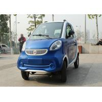 Wholesale Blue Color Mini Electric Car Family 2200 W With 3 Seats 2400*1270*1500mm from china suppliers