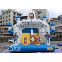 Wholesale Outdoor Inflatable Jumping Castle N Bounce House With Slide For Sale From China Factory from china suppliers