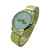 Wholesale Luxury Mustache Watch Stainless Steel Womens Big Face Watches For Men from china suppliers
