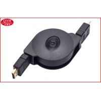 Wholesale PVC 1 meter HDMI transfer Retractable Ethernet Cable ABS Two Way Reel from china suppliers