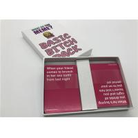 Wholesale Box Expansion Pack Whatdoyoumeme Game / Popular Card Games For Adults from china suppliers