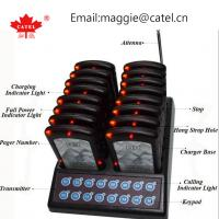 China coaster pager / paging system for restaurant / calling system / waiter queue paging system on sale