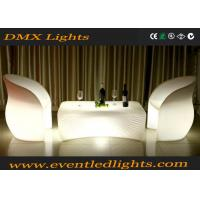 China Outdoor Plastic Led Bar Table Bright Colored Rechargeable Furniture With Light wholesale