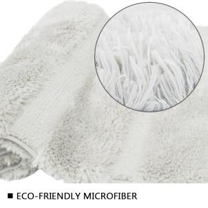 Wholesale TPR Backing Bathroom Rug Tufting Rubber Backed Bath Mat Super Comfortable from china suppliers