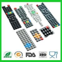Wholesale Waterproof Printing TV Remote Control Conductive Silicone Rubber Keypads from china suppliers
