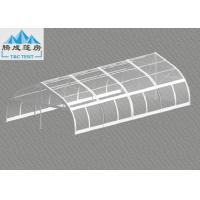 Wholesale 120km/h Wind Flame Retardant 10x20m Aluminum Frame Party Tent , Luxury All Season Customized PVC Color from china suppliers