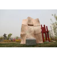 Wholesale Landscape sculpture with Natural stone for city from china suppliers