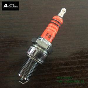 Orange  torch F6TC Copper Spark Plugs same as BP6ES M14 * 1.25 mm short