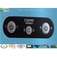 Wholesale 0.175mm PET Membrane Switch Overlay With Matte Finish And Silver Contact Pad Custom from china suppliers