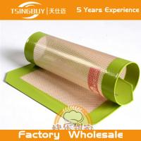 Wholesale Wholesale Non-sticking resistant glass fiber silicone pad with FDA//LFGB approval from china suppliers