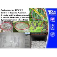 China CARENDAZIM 50% WP Plant Fungicide Control Of Septoria , Fusarium , Erysiphe on sale