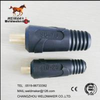 Wholesale 10-25 mm2 connector plug for welding machine and welder from china suppliers