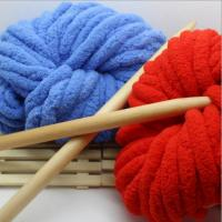 Wholesale Soft hand feel with 100% light polyester chenille yarn for sweaters from china suppliers