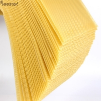 Wholesale 5.4mm Pure Natural Beeswax Honeycomb D Beeswax Foundation Sheet from china suppliers