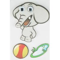 Wholesale Soft Kids 3D Cartoon Stickers Promotional Baby Elephant Wall Stickers  from china suppliers