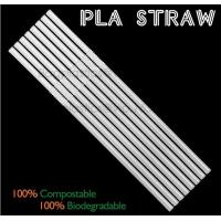 Wholesale Eco-friendly straw for drinking use, 100% compostable straw, PLA folding drinking straw from china suppliers