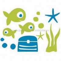 Wholesale Stickers for Wall Decoration, Made of PVC and Vinyl, Customized Designs are Accepted from china suppliers