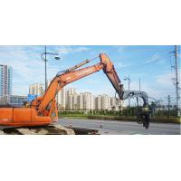 High Frequency Hydraulic Vibratory Pile Hammer Excavator