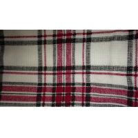 Wholesale 145cm Wide Waffle Rayon Polyester Weave Fabric With Grid Pattern Multi Color from china suppliers