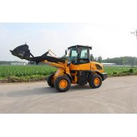 Wholesale Yellow 1600kg Articulating Wheel Loader Mini Compact Construction Equipment from china suppliers