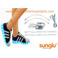 Buy cheap Different colors LED Shoe Light , Sole Footwear Decoration , LED Flashing Shoes from wholesalers