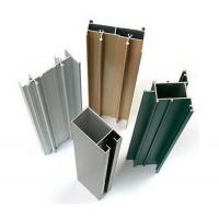 Chemical / Mechanical Polished Aluminum Window Extrusion Profiles For Architectural