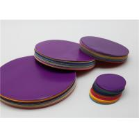 Wholesale Lick - To - Stick Gummed Paper Circles Pack Different Sizes Assorted Colour from china suppliers