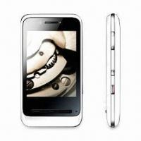 Wholesale 3.0-inch Touchscreen Mobile Phone with Wi-Fi and 5.0MP Camera, Supports MSN and Google Talk from china suppliers