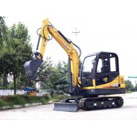 Buy cheap 4.2ton mini crawler excavator CT45-8B with Yanmar engine from wholesalers
