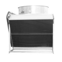 Wholesale Copper tube fin fan type top blow dry cooler for HVAC industry from china suppliers