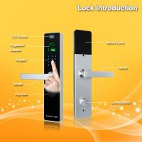 Wholesale Waterproof Contactless Keyless Fingerprint Door Lock With ID Card Reader from china suppliers