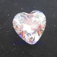 Wholesale Zircon Heart Shape (HS) of Cubic Zriconia from china suppliers