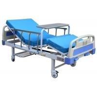 Wholesale 2 Function 2 Crank Manual Hospital Bed Comfortable With Dinning Table / Mattress from china suppliers