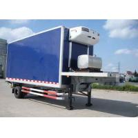 Wholesale 30 Foot 1 Axles Refrigerated Cargo Trailer , Transport Refrigerated Box Trailer from china suppliers