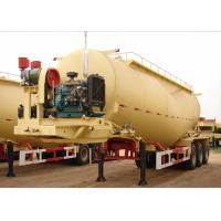 Wholesale Cement Powder Transport Dry Bulk Pneumatic Tank Trailers Tri Axles 39000L Volume from china suppliers