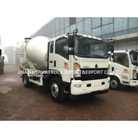 Wholesale Mini Sinotruk 4 5 6m3 Light Duty Commercial Trucks Asphalt Concrete Mixing Truck from china suppliers