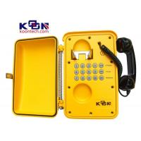 Wholesale IP67 Weatherproof Telephone Lightning Protection , Railroad Tele Phones from china suppliers