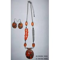 Wholesale Nickel-Free Earrings and Necklace Set from china suppliers