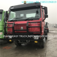 Wholesale Howo 6x6 Truck 6x6 howo Tractor Truck Price Sinotruk HOWO 371hp Prime Mover 6x6 Tractor Truck from china suppliers