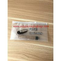 Wholesale Zipper Locks Resealable Cigar Humidor Bags With Slider LDPE Laminated White Color from china suppliers