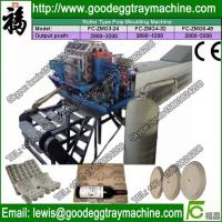 China Paper Pulp Egg Tray Machine Price on sale